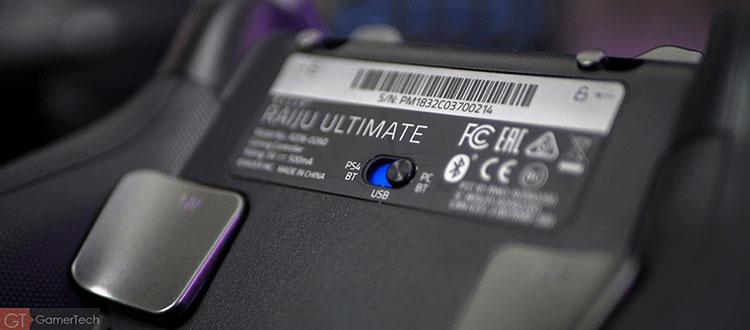 Manette PS4 avec connexion Bluetooth