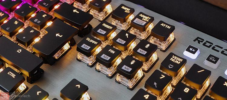 Le clavier embarque des raccourcis pour les macros