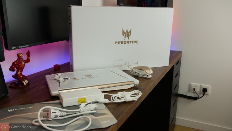 Unboxing du PC Portable Acer Predator Helios 300