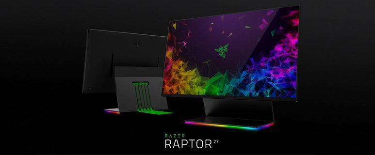 Razer dévoile son premier moniteur gaming
