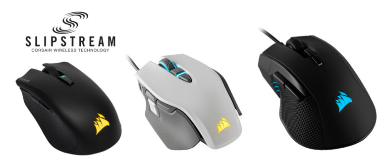 Corsair présente 3 nouvelles souris gamer