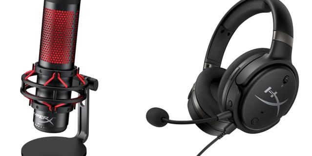 HyperX présente une nouvelle gamme de casques et un micro