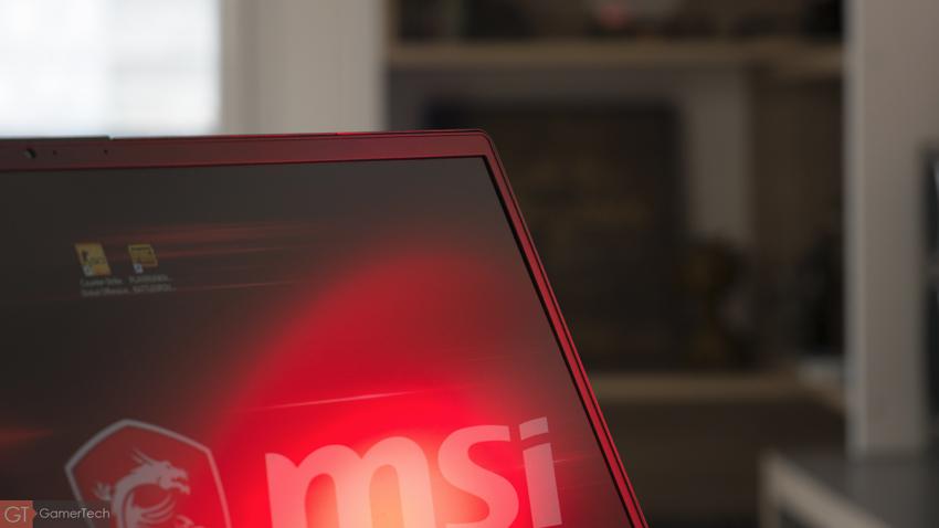 MSI GS65 : écran borderless