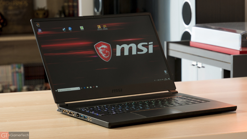 MSI GS65 - Test complet