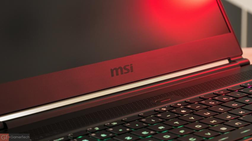 MSI GS65 : un superbe PC portable gamer