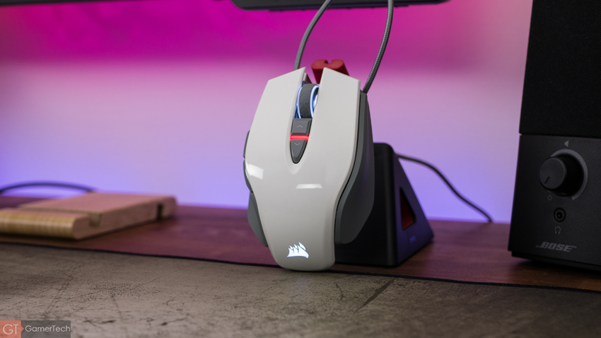 La M65 RGB Elite de Corsair en version blanche