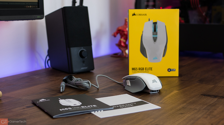 Unboxing de la souris Corsair M65 RGB Elite