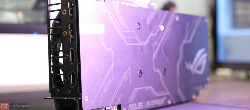 Backplate ASUS ROG Strix