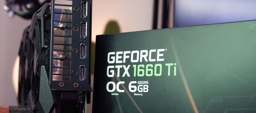 Benchmark GTX 1660 Ti