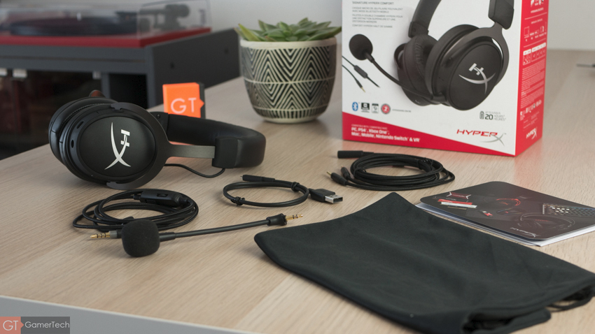 Unboxing du casque gamer HyperX Cloud Mix