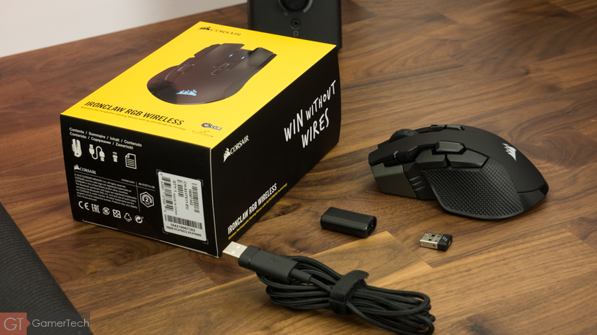 Unboxing Corsair Ironclaw Wireless RGB