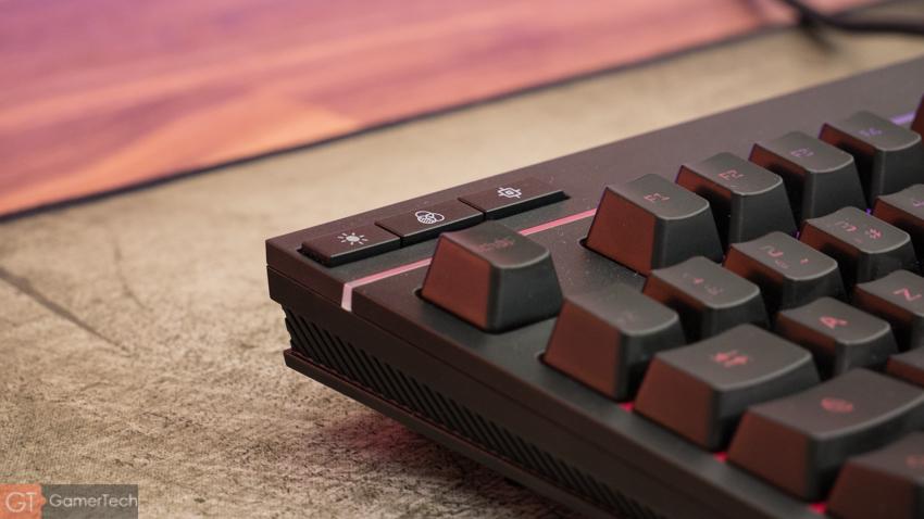 HyperX Alloy Core RGB : clavier design