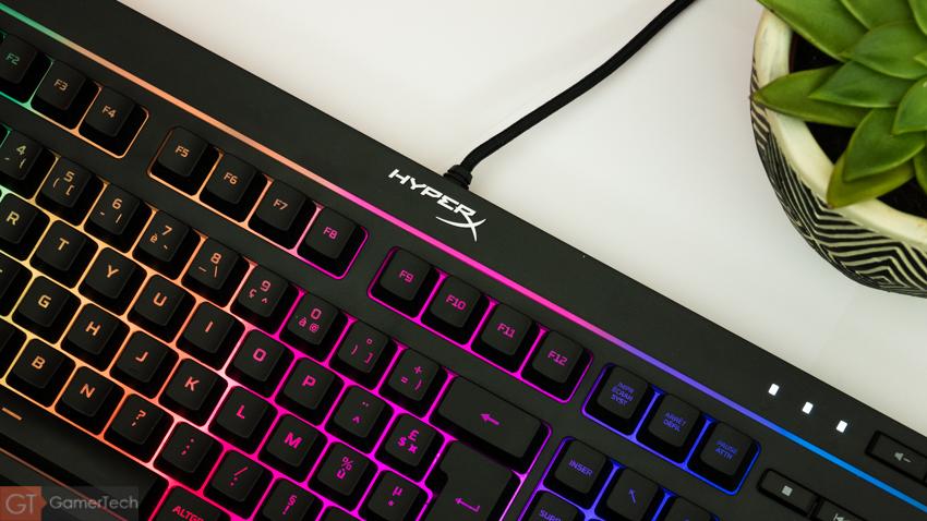 Clavier gamer RGB : Hyper Alloy Core RGB