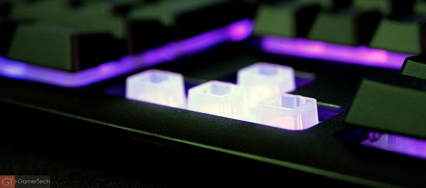 Clavier gamer sans-fil à membrane