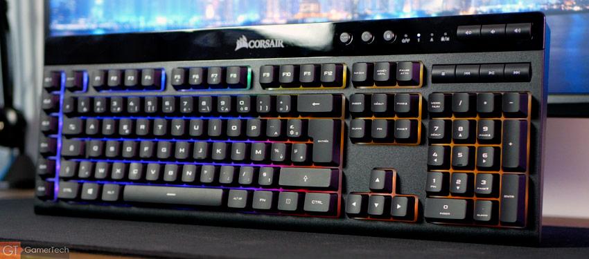 Design du clavier Corsair K57