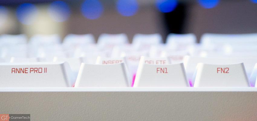 Raccourcis FN1 et FN2