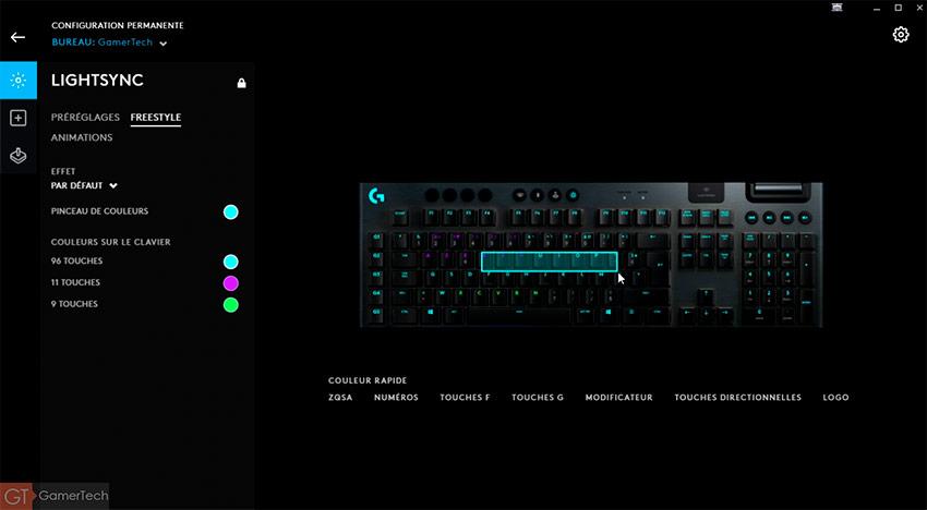 Un des rares claviers gamer sans-fil avec éclairage RGB