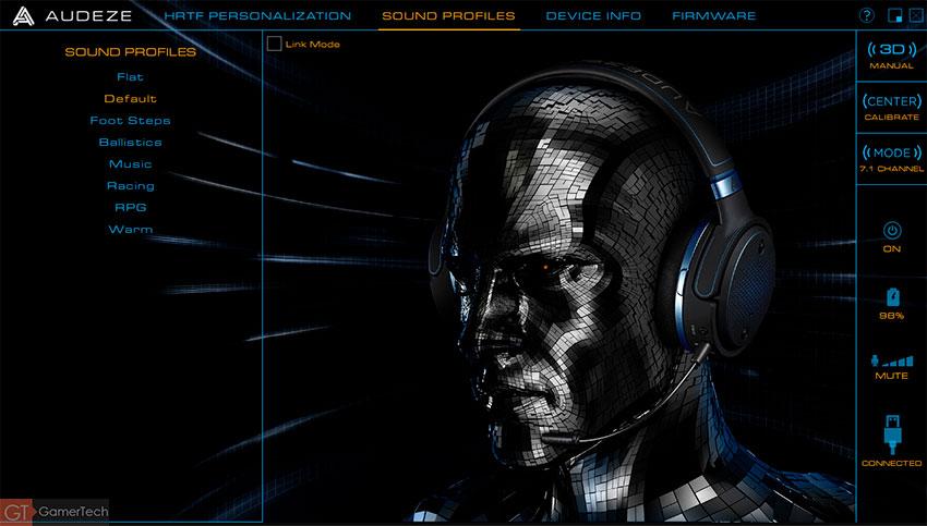 Gestion des profiles sonores