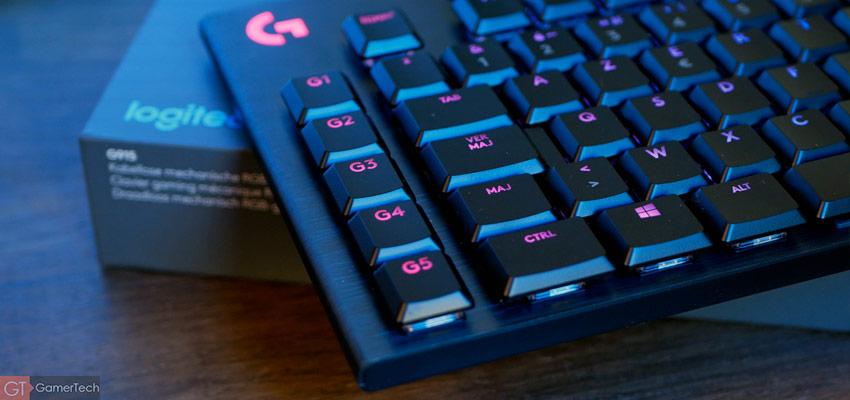 Touches de macros sur clavier gamer