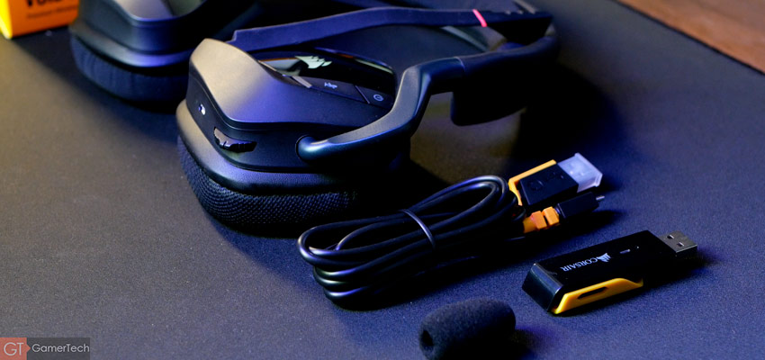 Contenu de la boîte du Corsair Void Elite Wireless