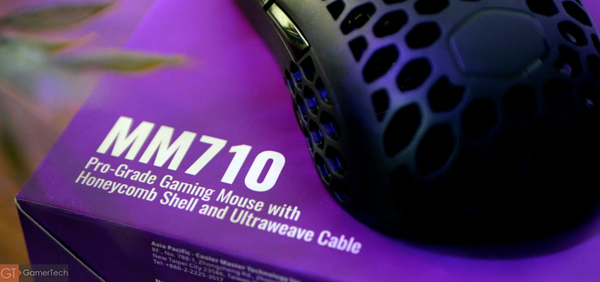 Unboxing MM710 de Cooler Master