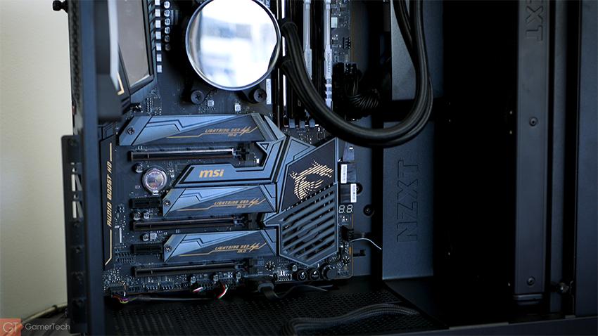 Intérieur NZXT H510 Elite