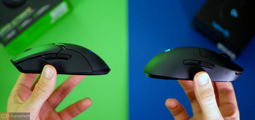 Razer Viper Ultimate ou Logitech G Pro Wireless ?