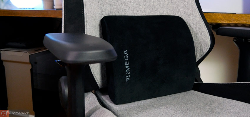Le coussin pour lombaire est d'excellente qualité, avec mousse à mémoire de forme