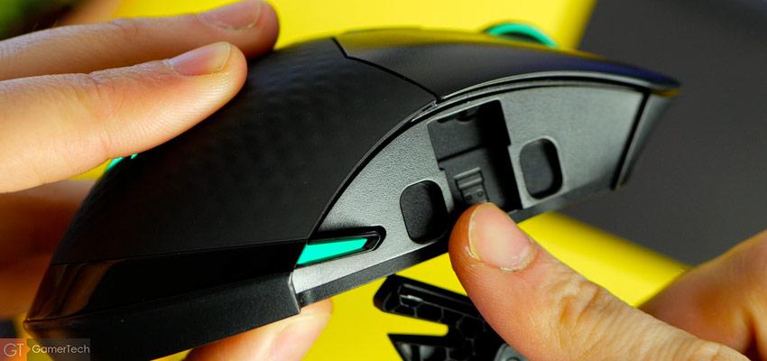 Rangement pour le dongle USB