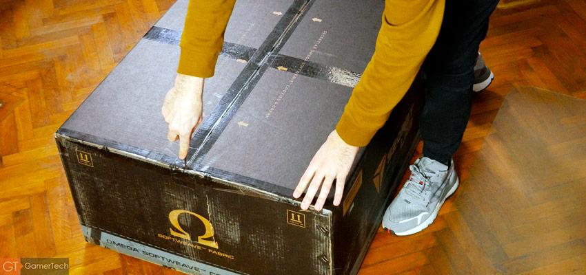 Unboxing chaise Secretlab Omega