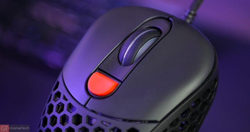 Molette et bouton DPI de la souris