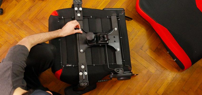 Assemblage de la chaise Nitro Concept S300