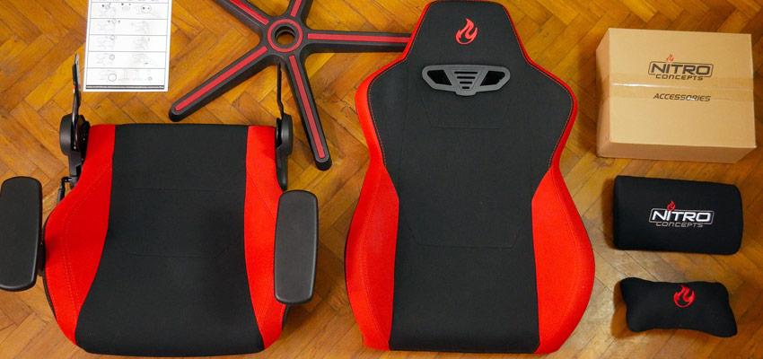 Unboxing chaise Nitro Concept S300