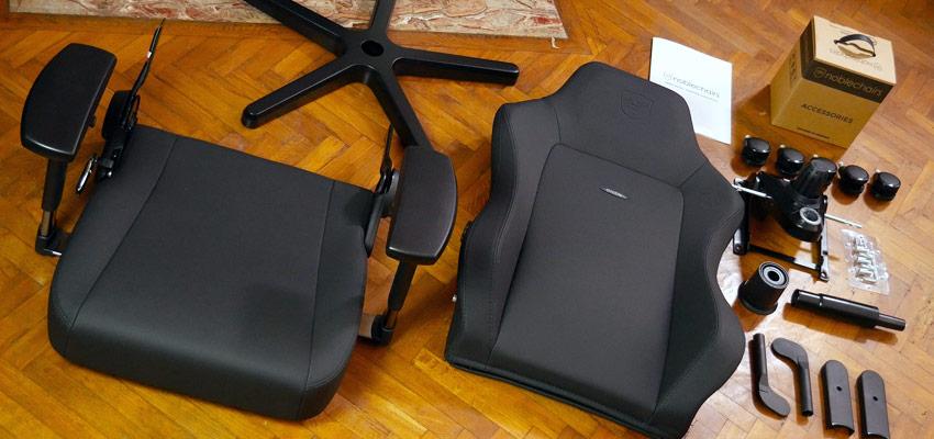 Unboxing du fauteuil Noblechairs Hero