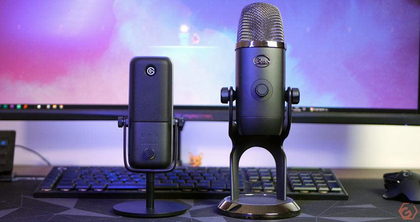 Le microphone Wave 3 est plutôt discret