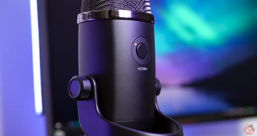 Réglage de la directivité du microphone