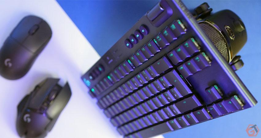 Clavier mécanique sans-fil au format TKL