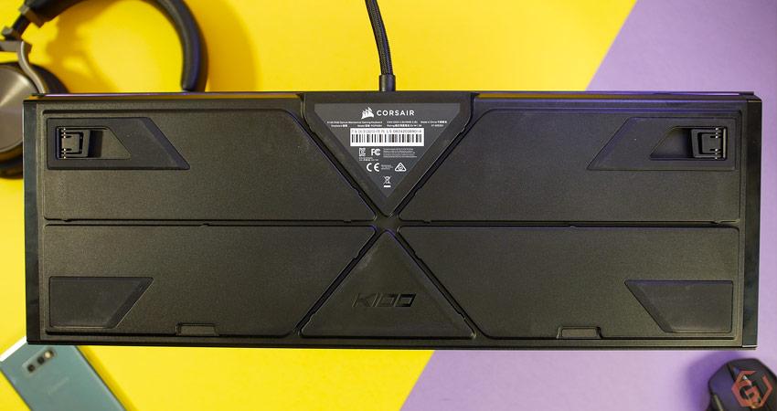 Châssis du clavier gamer Corsair K100
