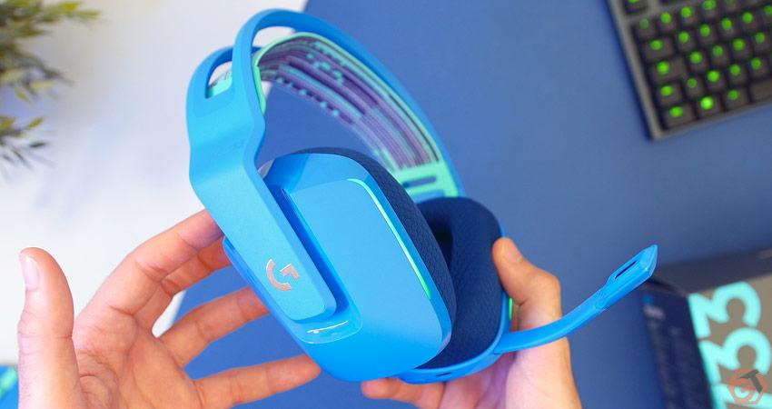 Logitech G733 - Un casque gamer sans-fil coloré et efficace