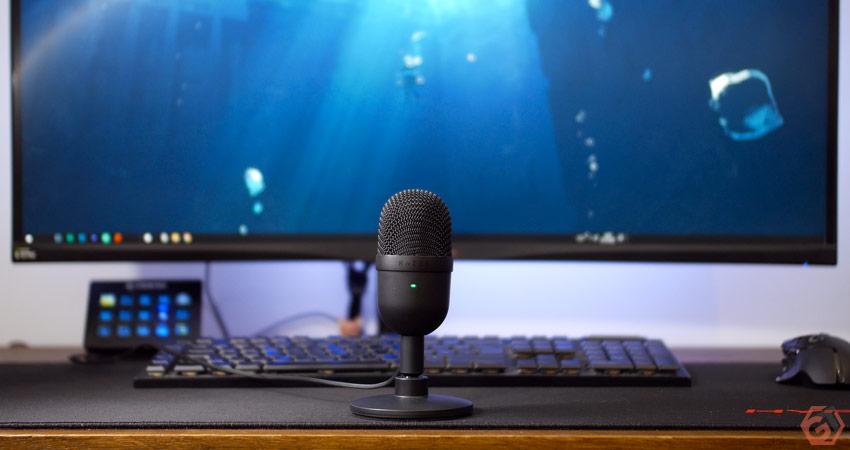 Encombrement minimum pour le microphone de Razer