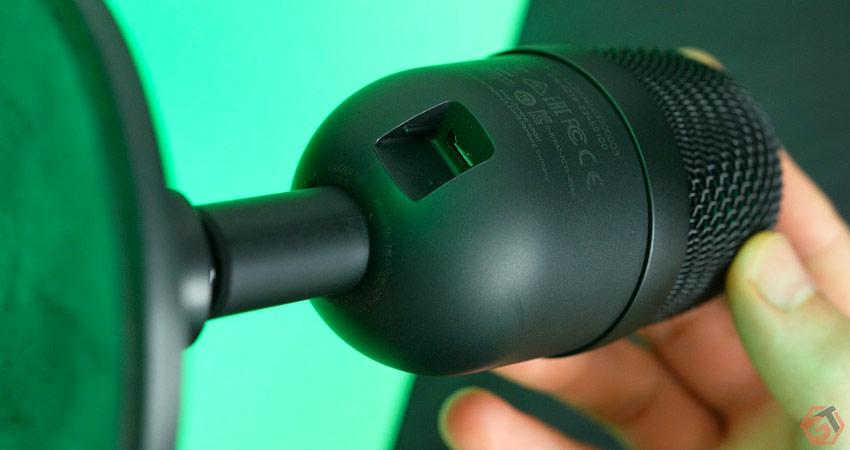Le micro se connecte via micro-USB