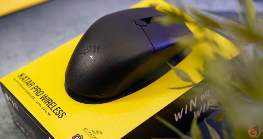 Review de la Corsair Katar Pro Wireless