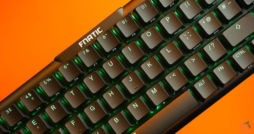 Avis sur le clavier Fnatic Streak65