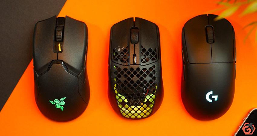 Comparatif taille souris gamer ultralight