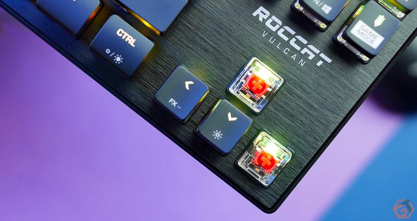 Les nouveaux interrupteurs Roccat Titan Optical