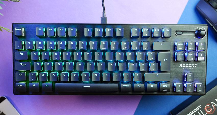 Roccat Vulcan TKL Pro - Un clavier gamer compact et performant