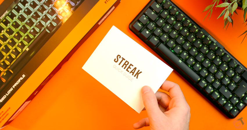 Unboxing du Fnatic Streak65