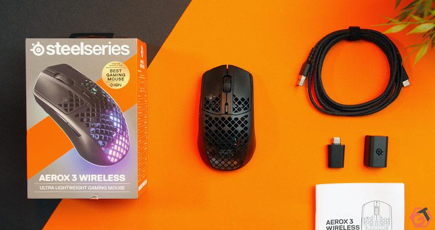 Unboxing SteelSeries Aerox 3 Wireless