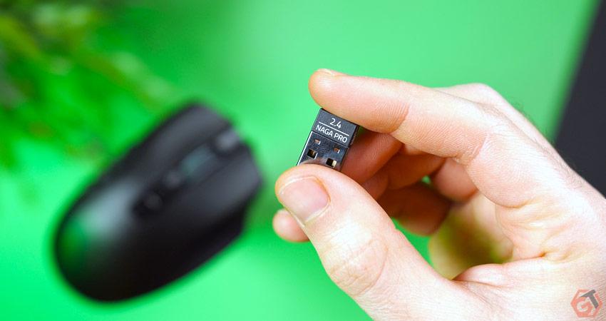Dongle USB pour la connexion sans-fil 2.4 Ghz