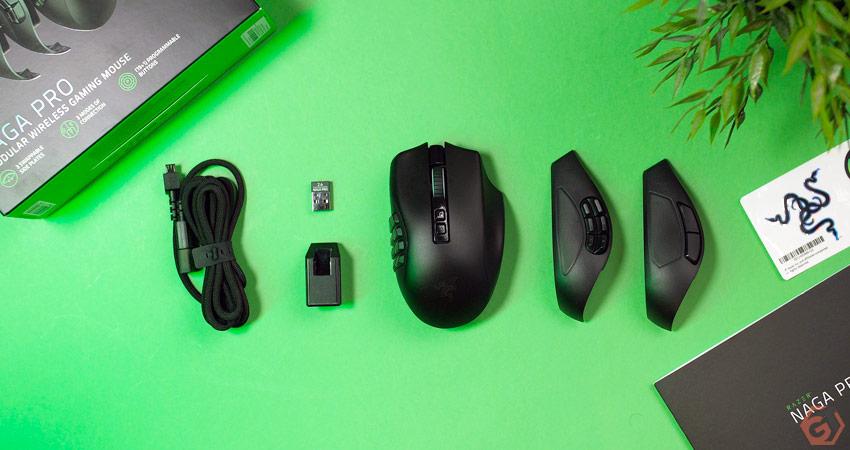 Unboxing de la souris Razer Naga Pro